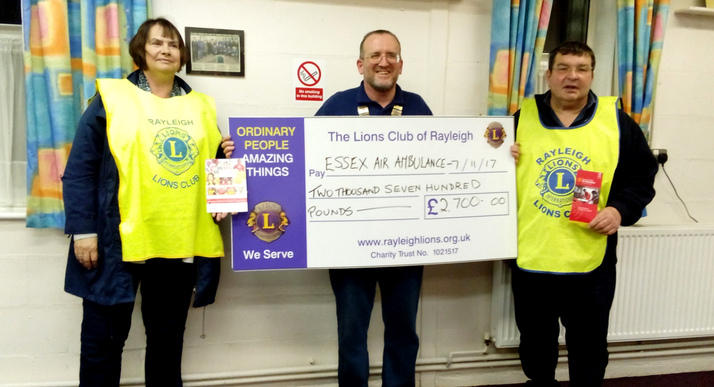 Lions Club, Rayleigh