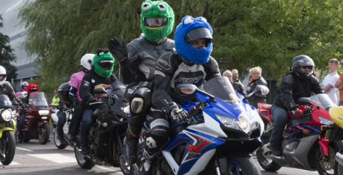 Motorcycle Run and Harwich Family Fun Day